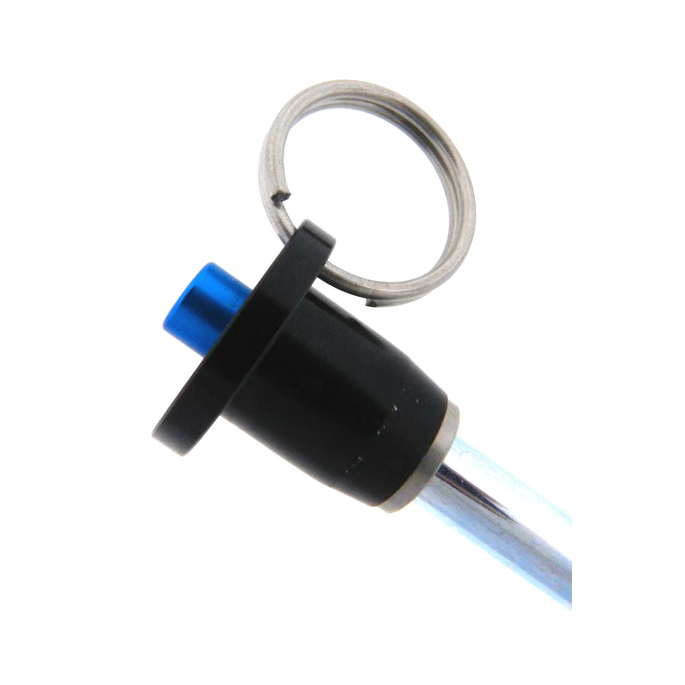 Ball Lock Lift : Button handle quick release steel
