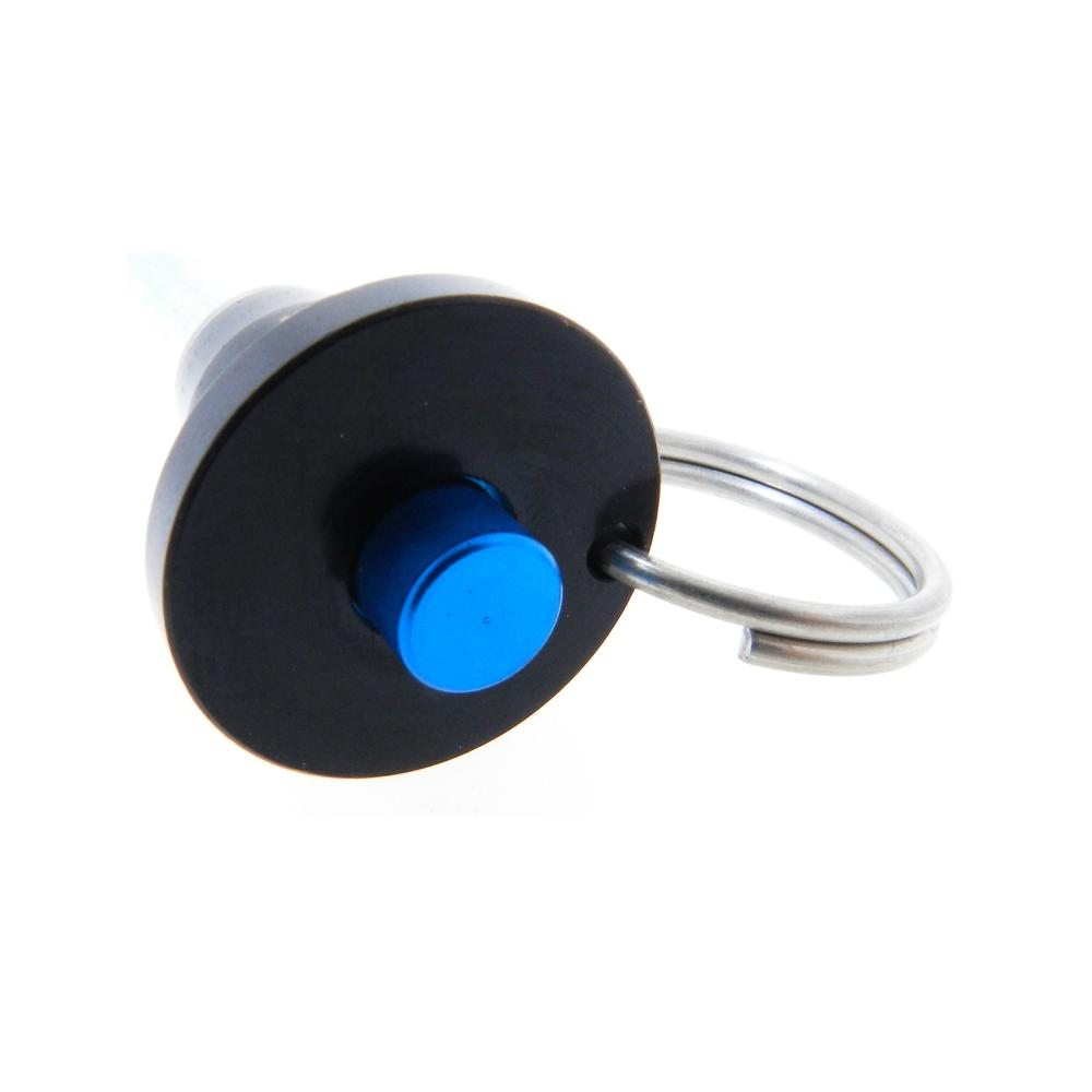 Ball Lock Lift : Button handle quick release stainless steel