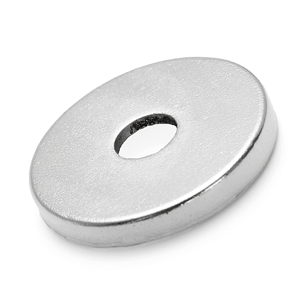 0767bb02f Neodymium Diametric Disc & Cylinder Rare Earth Magnets With Holes ...
