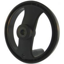 2 Spoke Handwheel with Folding Handle