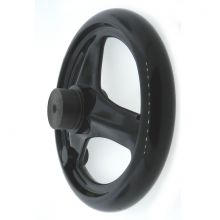 Phenolic 3 Spoke Handwheel without Handle