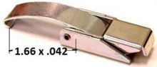 Over-Center Draw Latch with Solid Curved Hook