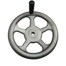Stainless Steel Handwheel with Revolving Handle
