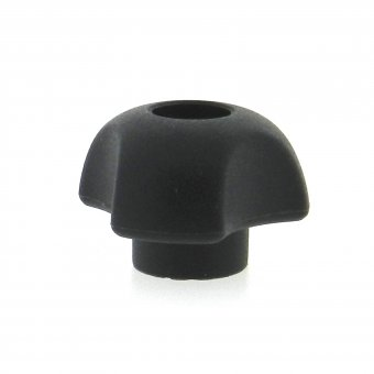 Thermoplastic 3 Lobe Knob - Tapped Through