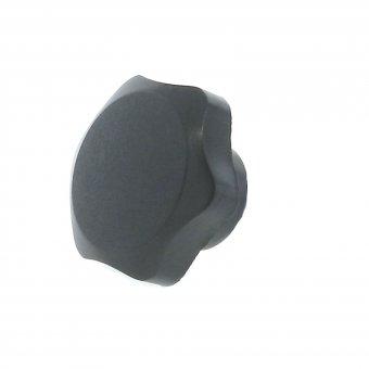 Plastic Duroplast 6 Lobe Knob - Tapped