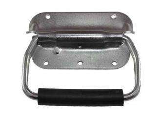 Spring Loaded Chest Handle with Rubber Grip