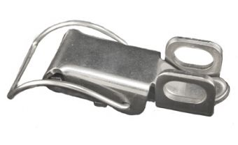 Lockable Draw Latch with Curved Loop Bail