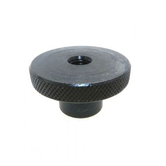 Knurled Control Knobs - Reamed Through with Set Screw