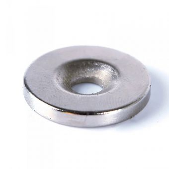 Neodymium Mounting Magnet with Countersunk Hole
