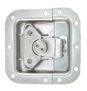 Recessed Dish Twist Latch