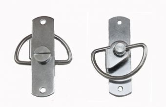 Screw Turn Latch with Slotted Head