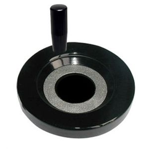 Solid Duroplast Handwheel with Revolving Handle