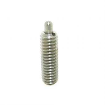 Stainless Steel Standard Spring Plunger with Standard End Force