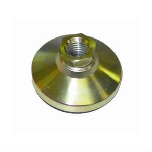 Steel Adjustable Leveler-Tapped with Non-Skid Pad