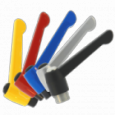 Classic Style Zinc Adjustable Clamping Levers - Color Options